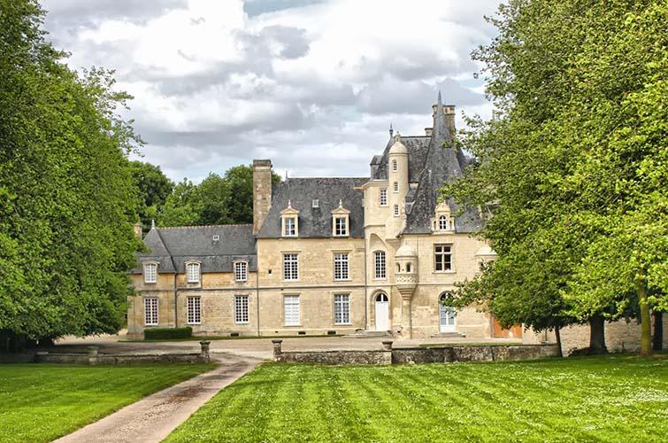 Le château de Lion-sur-Mer