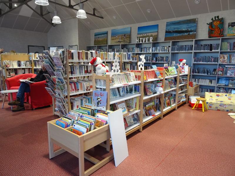 Ouverture de la bibliothèque salle du marché