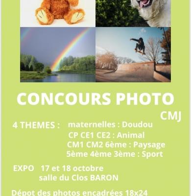 Concours photo proposé par le CMJ