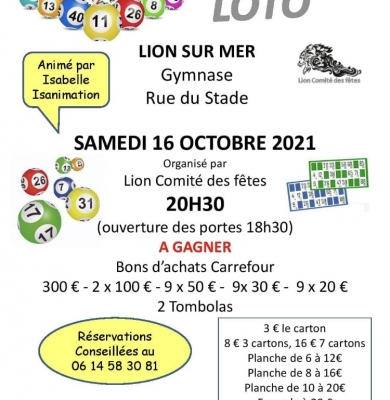Super loto samedi 16 octobre