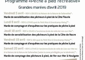 """Programme """"Pêche à pied récréative – Côtes du Calvados"""""""