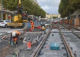 Info Caen la mer : Travaux tramway semaine 51
