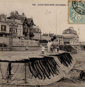 Lion-sur-Mer – Filets de pêche
