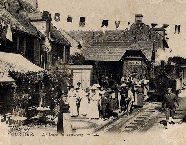 Lion-sur-Mer – TRAMWAY