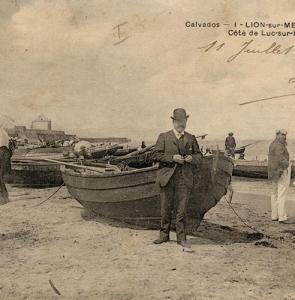 Lion-sur-Mer – bateau-pop