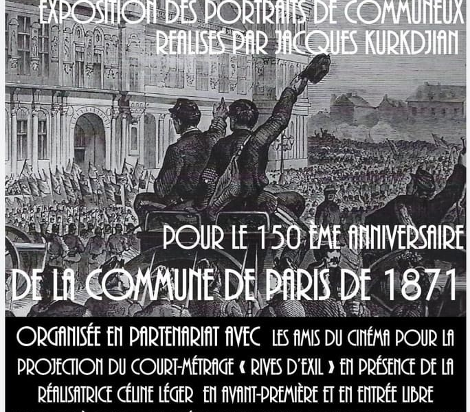 150éme anniversaire de la Commune de Paris de 1871