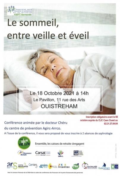 Conférence sur le sommeil
