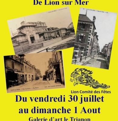 Exposition cartes anciennes de Lion-sur-Mer du 30juillet au 1er août
