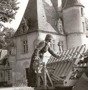 6 juin 1944 – défense allemande au château