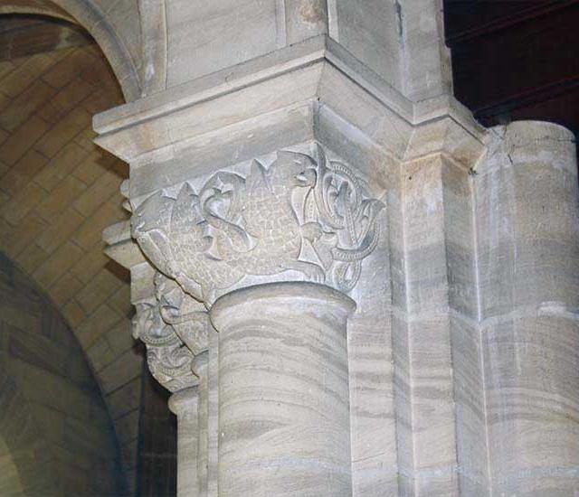 Église Saint-Pierre – Chapiteaux romans