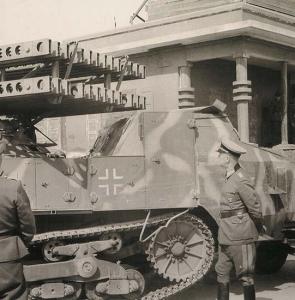 30 mai 1944 – défense allemande à Lion devant Rommel