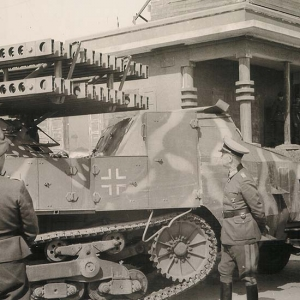 11 mai 1944 – défense allemande à Lion devant Rommel