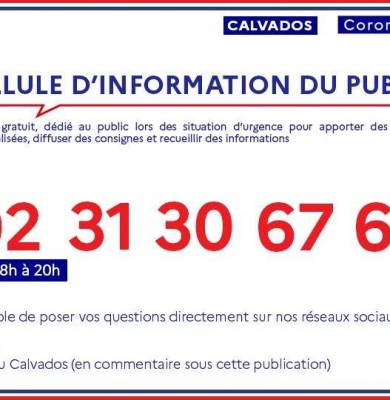 Informations Commune CORONAVIRUS