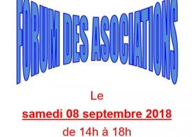 Forum des associations samedi 8 septembre salle Trianon