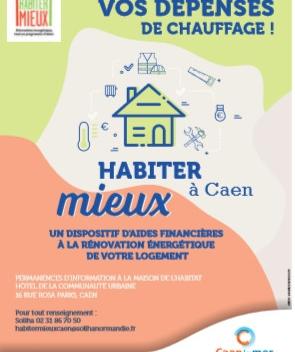 CAEN LA MER : Nouveau à Caen : Le programme Habiter Mieux