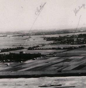 1943 – photo aérienne de l'armée de l'air anglaise