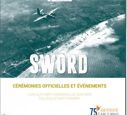 Programme du 75ème anniversaire du débarquement à Lion-sur-mer, Hermanville-sur-Mer et Colleville-Montgomery